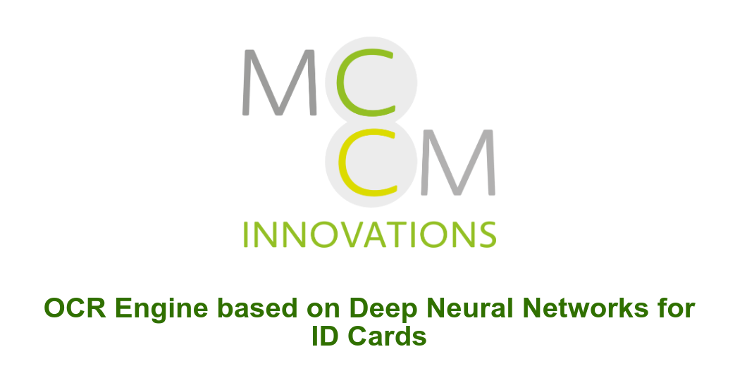 OCR Engine based on Deep Neural Networks for ID Cards